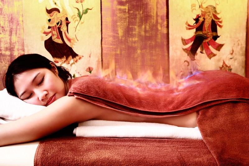 Китайский массаж «Огненное плетение»