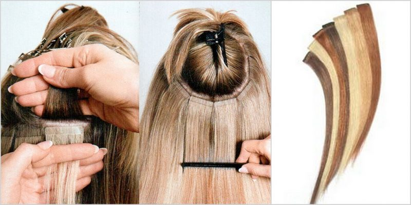 Холодное наращивание волос – выбор специалистов