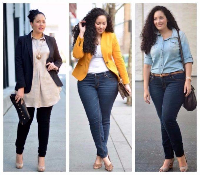 Какая одежда подходит полным девушкам