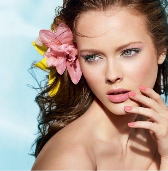 макияж естественный пляжный