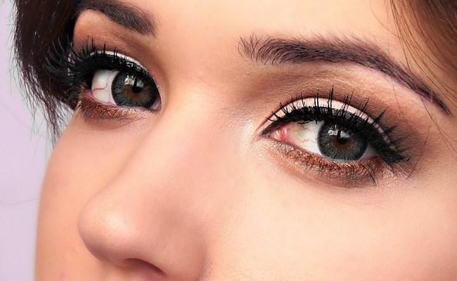 как правильно красить глаза красиво