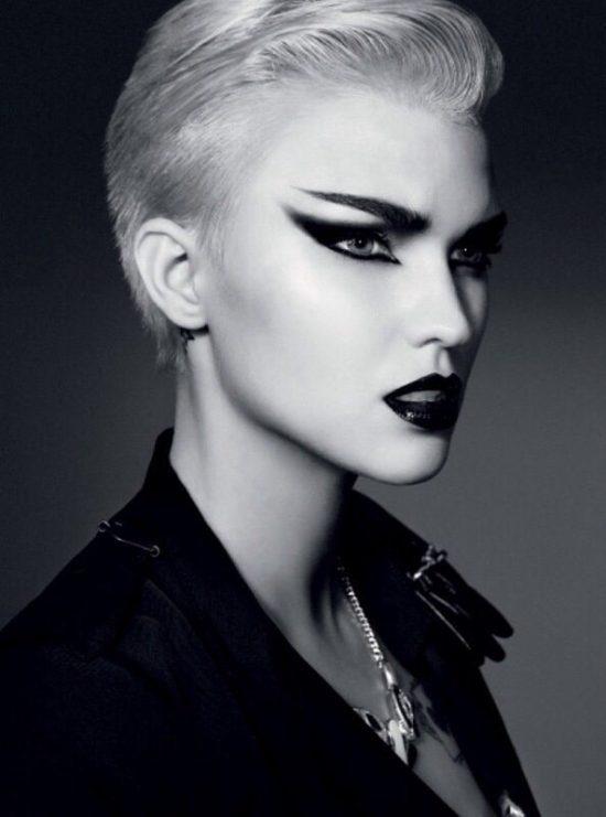 макияж в стиле панк
