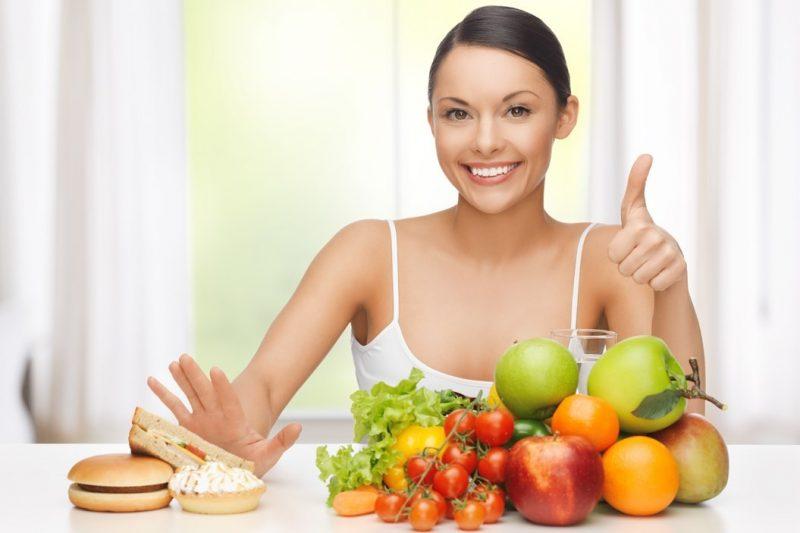 Здоровье волос зависит от правильного питания