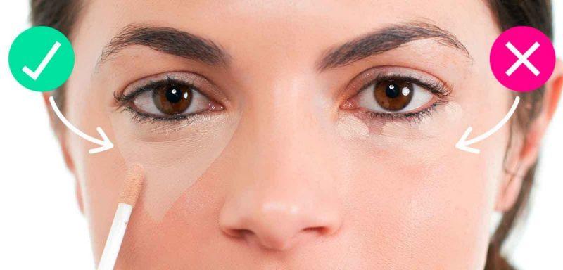 Корректор под глаза – как подбирать