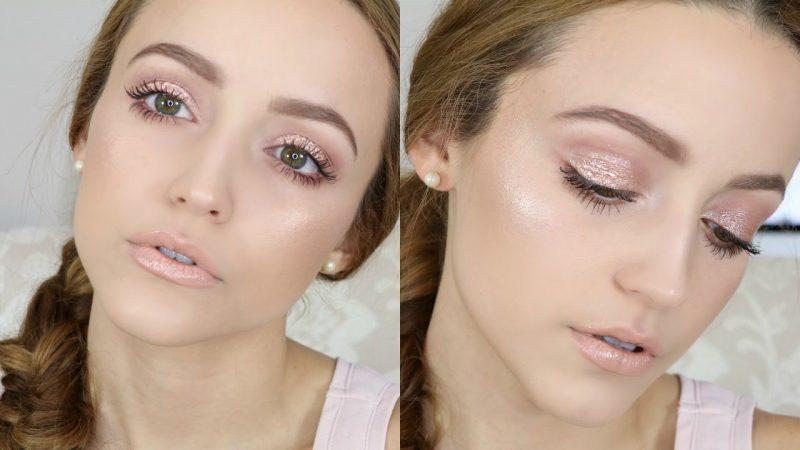 Романтичный макияж