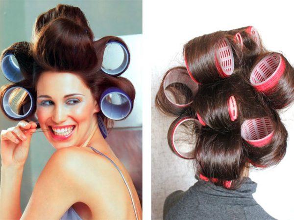 Бигуди для волнистых волос