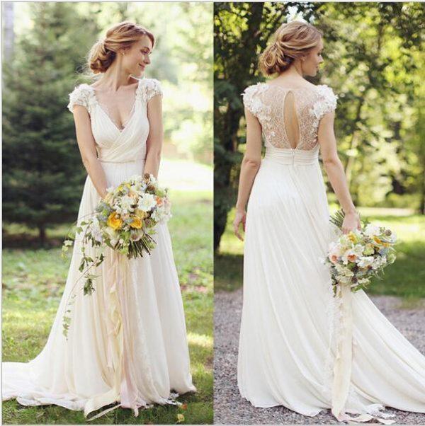 Свадебные платья в греческом стиле