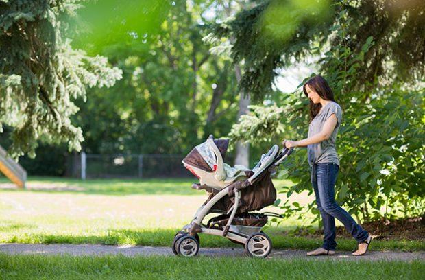 прогулки после родов