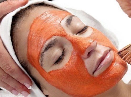 Маска для лица из моркови