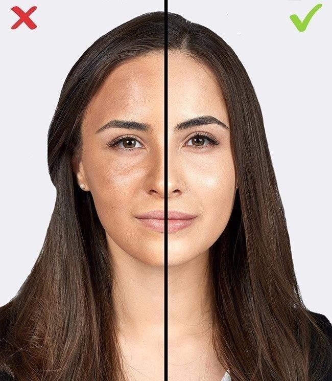 Распространенные ошибки макияжа
