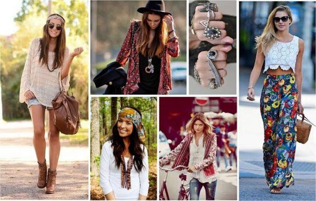 стиля бохо в одежде