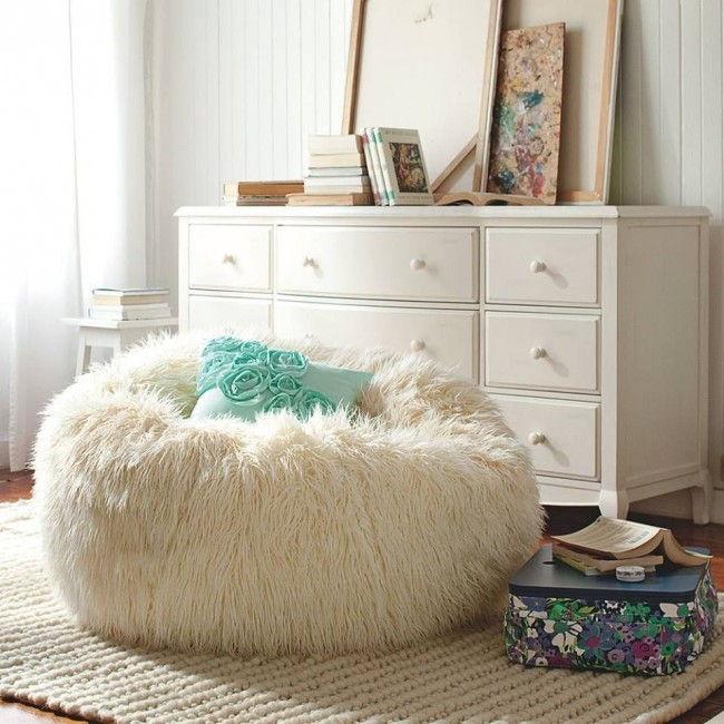Кресло-мешок в интерьере