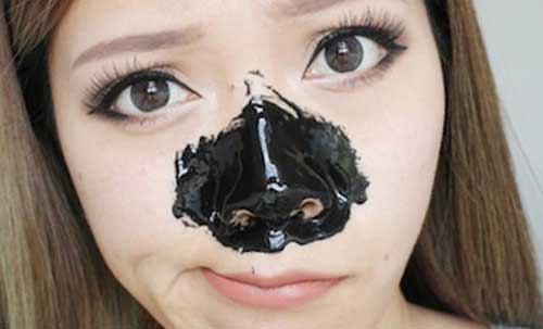 Уголь против черных точек
