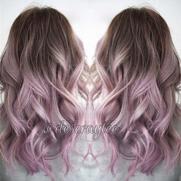 красочные волосы, цвет волос, вдохновение для цвета волос, каштановые волосы, черные волосы, розовый цвет волос, прическа, длинный каре, светлые волосы
