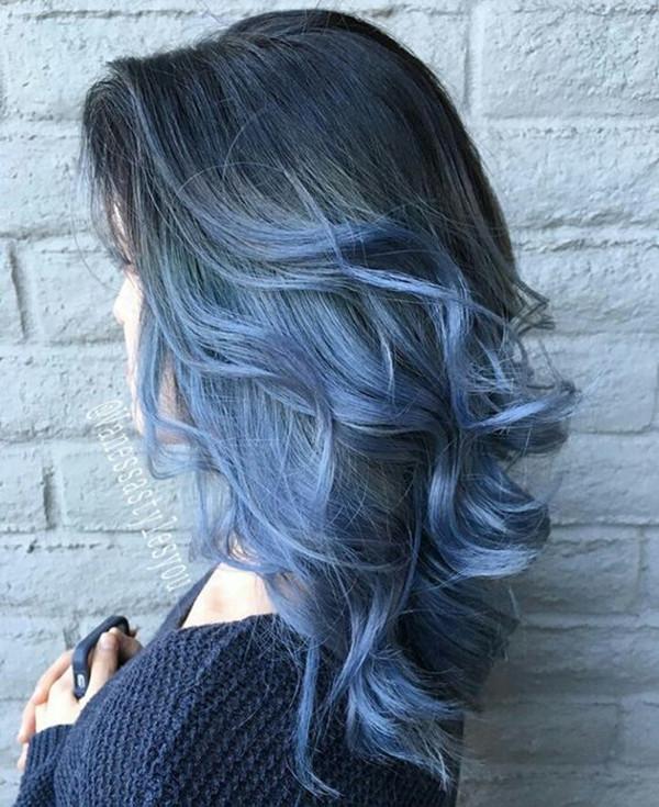 красочные волосы, цвет волос, вдохновляющий цвет волос, каштановые волосы, черные волосы, синий цвет волос, прическа, ледяные синие волосы, длинный боб, светлые волосы